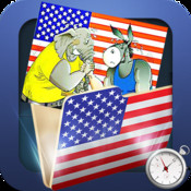 Obama Clock Pro - The US Presidential Election 2012 With Statistics