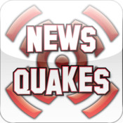 NewsQuakes - Up to the minute Earthquake news - Maps, News, Videos, Audio