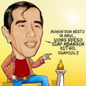 Jokowi Flying