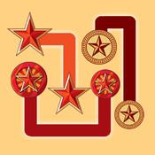 AAA Star Flow Free Puzzle Game - Match and Connect the Star Pairs 5star game copy 1 5