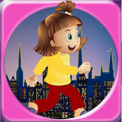 City Escape: Girl Roof Top Runner Free