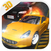 Armored Cop Car VS Extreme Robbers HD FREE!
