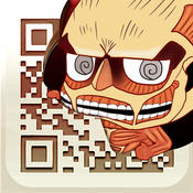 Attack on Titan QR Code Reader & QR Code Creator . Free for iPhone