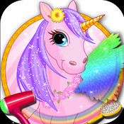 Pony Care Resort - Pretty pony dress up and princess spa & salon game