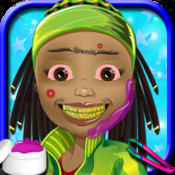 Crazy Hairy Faces Spa and Salon - Hair barber stylist and Hair cut game