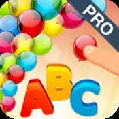 Pro ABC Preschool Mania: Crush colorful Balloons Letters to learn Alphabet Phonics. Endless Baby joy reading and spelling by Moojoy