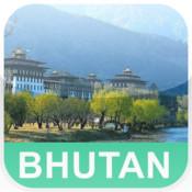 Bhutan Offline Map - PLACE STARS