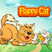 Flappy Cat - Kill mouse by throw water ball