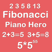 Piano Hero Fibonacci 5X5 - Playing With Piano Sound And Sliding Number Tiles