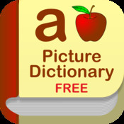 Kids Picture Dictionary : an educational app for kids in Preschool, Kindergarten, First-grade and ESL! Learn words and make sentences with fun record tool!