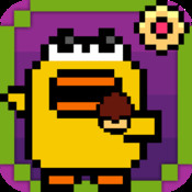 Cookie Fall Out - Addicting Flappy Cookie Bird Games For Kids Free cookie killer