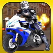 Nitro Crazy Lane Moto Bike Rider - Highway Motorcycle Traffic Stunt Street Drag Endless Race Game
