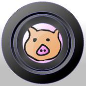 Thiner Camera -Piggy Camera-