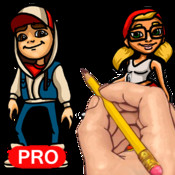 How to Draw: Characters from Subway Surfers subway surfers