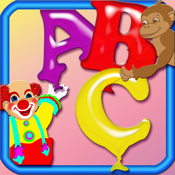 123 ABC Save - The Alphabet Amusement Park Balloons Letters Game HD