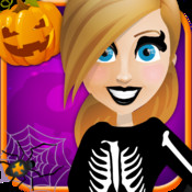 Halloween Party salon – Horror night fashion dress up free makeup makeover girls game