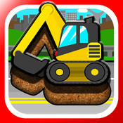 Kids Car, Trucks, Construction & Emergency Vehicles - Puzzles for Kids (toddler age learning games free) kids online puzzles