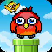 Flappy Tower FREE - Bubble Birds Falling in Sky bubble birds