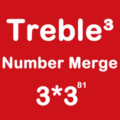 Number Merge Treble 3X3 - Sliding Number Block And Playing With Piano Sound