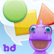 Shapes with Dally Dino HD - Preschool Kids Learn Shapes with A Fun Dinosaur Friend