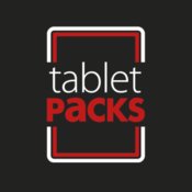 Tablet Packs - Safety App: Flashing lights, shapes and scrolling text. scrolling text ticker