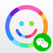 WeSticker - Sticker & Emoji & Emoticon & Chat Icon for WeChat Messenger emoticon messenger sticker