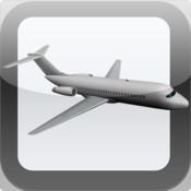 3D DC-9 Airliner Mobile