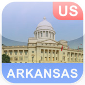 Arkansas, USA Offline Map
