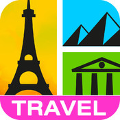 Guess It! Pic Travel Free Trivia Word Game – Test your Travel IQ, reveal the photo puzzle, guess what's the word, post & solve words with friends' help, play every day!