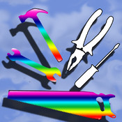Coloring Tools - Educational iFun Working Tools Coloring Pages Game