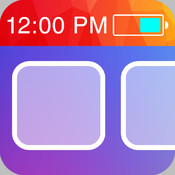 Color Status Bars - Customize your wallpaper with cool color status bars for iOS 7