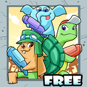 Wonder Hat Clan Warriors Free : Animals Fight on the Forest Outback