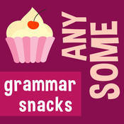 English grammar: Some, any and their compounds. Learn English with Grammar Snacks!