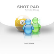 SHOT PAD - Pool and Pocket Billiards Notepad insane overkill pool