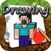 Drawing Desk : Draw and Paint Creator to Coloring Book Minecraft Edition
