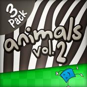 Animals 3-Pack, Volume 2 - TumbleBooksToGo for iPad