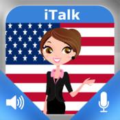 iTalk Inglese Americano conversazionale: registrare e riprodurre, imparare a parlare veloce, espressioni e prove di vocabolario per i parlanti di lingua italiana