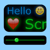 ScrollIt 2X: type, display, share scrolling messages scrolling text ticker