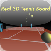 Real 3D Tennis Board
