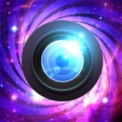 Galaxy Space Effects - Star Moon and Universe overlays