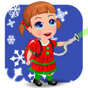 Baby Seven Christmas Clean Up 1-Christmas Countdown&Happy Volunteers Time street