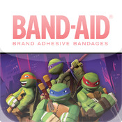 BAND-AID® BRAND MAGIC VISION™ APP STARRING NICKELODEON'S TEENAGE MUTANT NINJA TURTLES teenage room theme