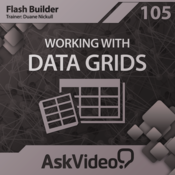 Course For Flash Builder 105 - Working With Data Grids
