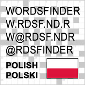PL Words Finder Pro Polish/Polski - find the best words for crossword, Wordfeud, Scrabble, cryptogram, anagram and spelling