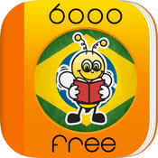Learn Brazilian Portuguese 6,000 Words for Free with Fun Easy Learn