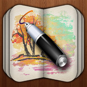 My Sketch Paper - Write, Paint, Draw, Create Notebook with Free Pen and Brush