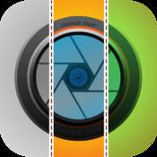 Orange Snap – One Split / Stitch Pic w/ Filters