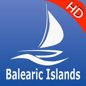 Balearic Islands GPS Nautical charts