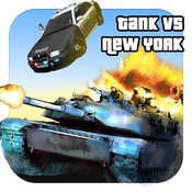 Tank vs New York (Amazing Battle!) noise from propane tank