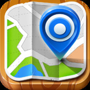 Maps - Google Maps© with Offline Viewing, Directions, Street View, Places, Search, GPS Services, Ruler